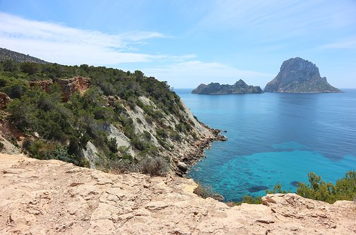 Summer Holidays in Ibiza, Spain